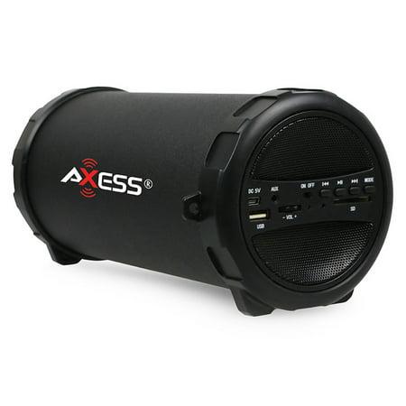 Axess Portable Speaker Black