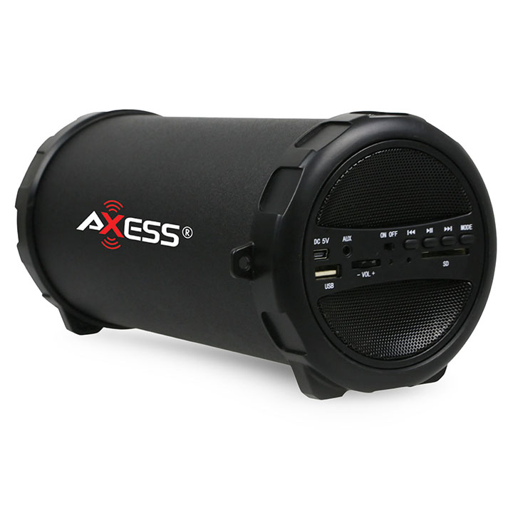 Axess Portable Speaker Black