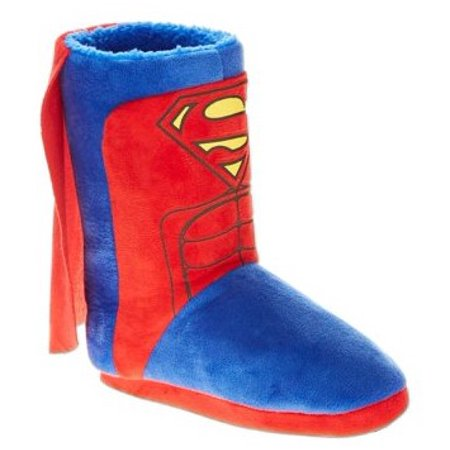 Superman Toddler Boy's Caped Slipper for $<!---->