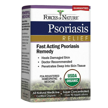 Forces of Nature Psoriasis Relief Topical Medicine, 5