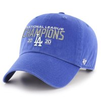 Los Angeles Dodgers '47 2020 National League Champions Clean Up Adjustable Hat - Royal - OSFA