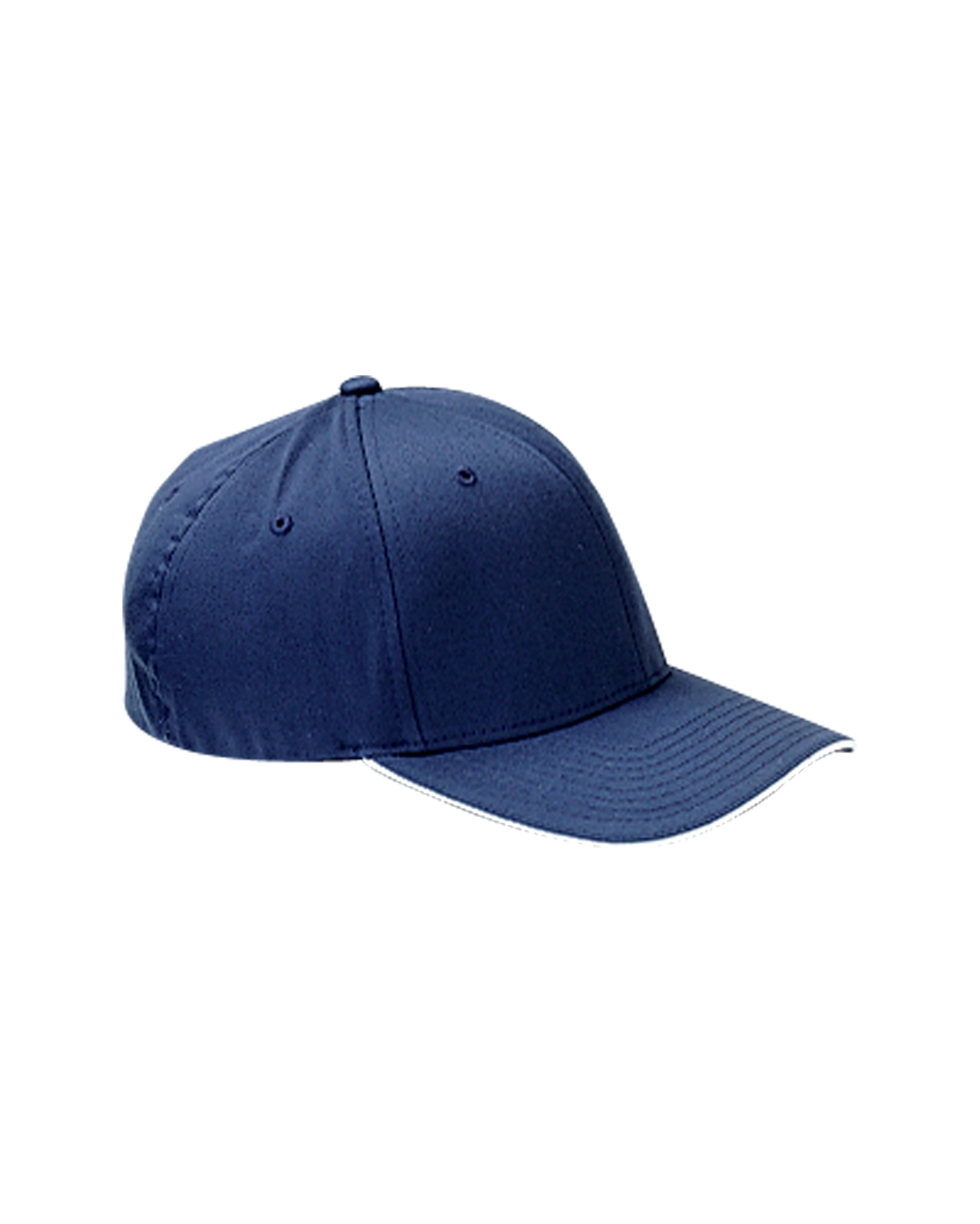 d590a95344d1d5 Flexfit 6277V Adult Wooly Cap with Sandwich Bill - Navy/ White - L/XL -  Walmart.com