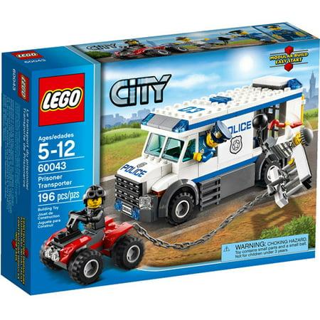 LEGO City Police Prisoner Transporter Building (Lego City Prisoner Transport)