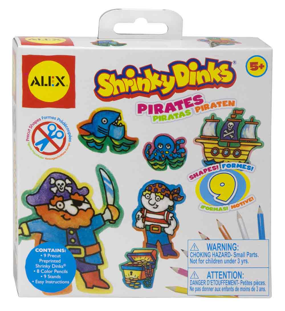 Shrinky Dinks Minis Pirates Multi-Colored