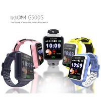 TechComm G500S Kids Smartwatch for T-Mobile ONLY with GPS and Fitness Tracker