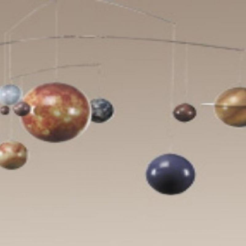 Planets Mobile Hanging Solar System Mobile, Authentic Models by Authentic Models