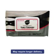 Sani Professional Table Turners No-Rinse Sanitizing Wipes, 8.2 x 9.8, White