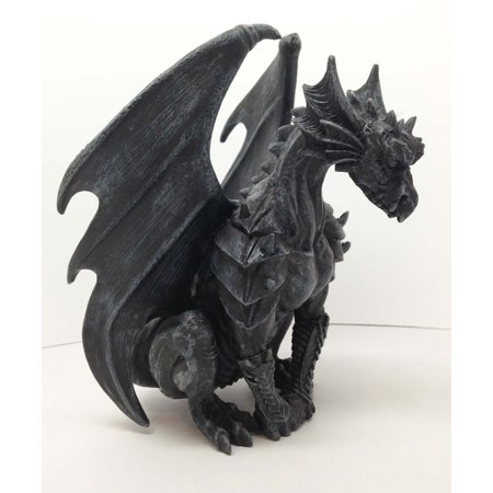 CASTLE GUARDIAN GARGOYLE STATUE GOTHIC GARGOYLES FIGURINE WOW, This awesome sculpture is 6.25