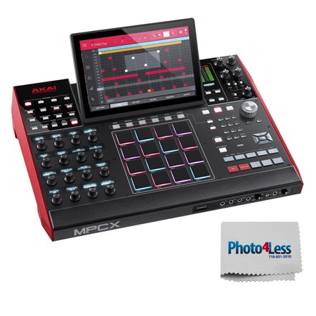 Akai Professional MPC X | Standalone MPC with 10.1 High-Resolution, Adjustable, Multi-Touch Display + Bonus Photo4less Cleaning Cloth! (Akai Mpc Sampler)