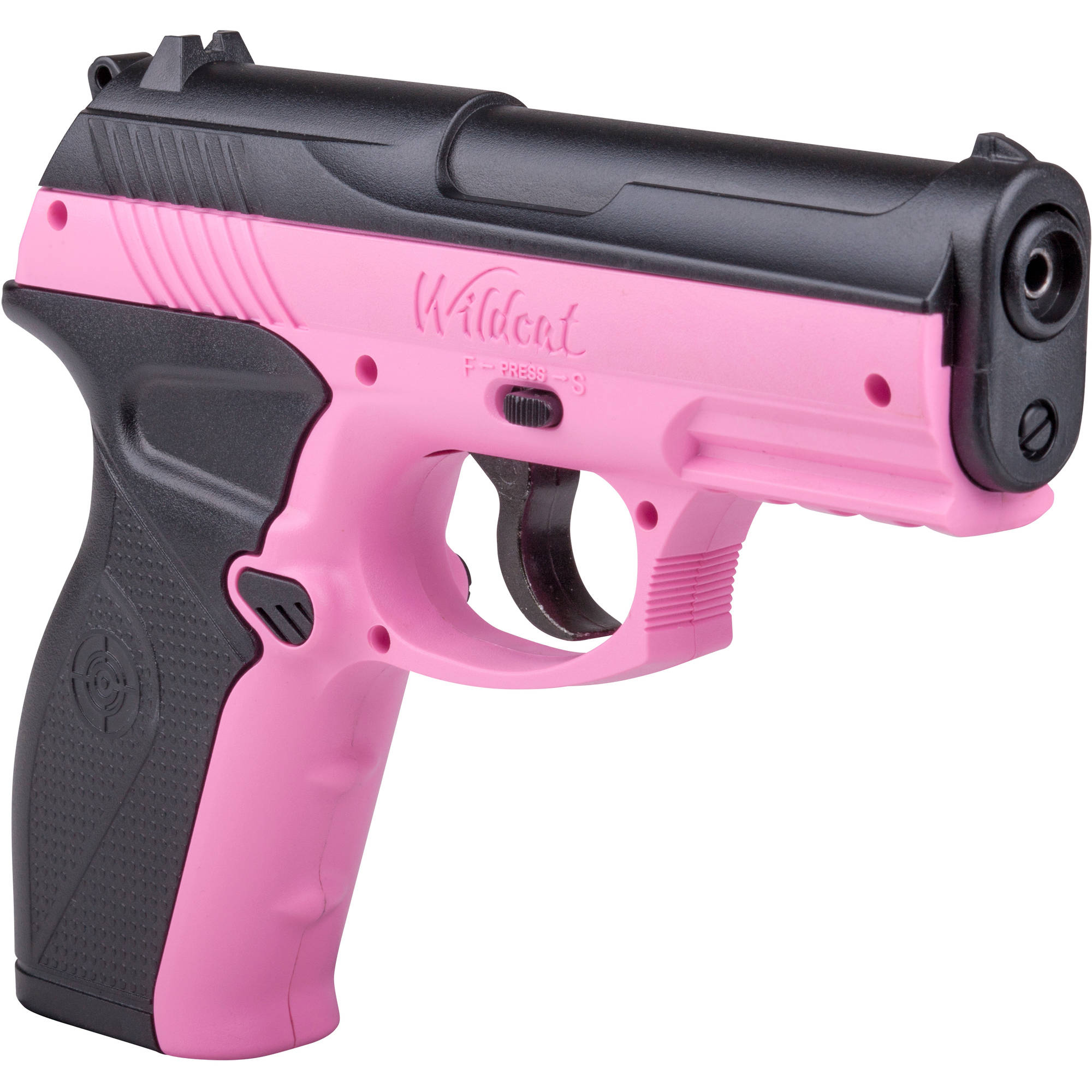 Crosman Pink P10 Wildcat .177 Caliber Semi-Auto CO2 Air Pistol, 480fps