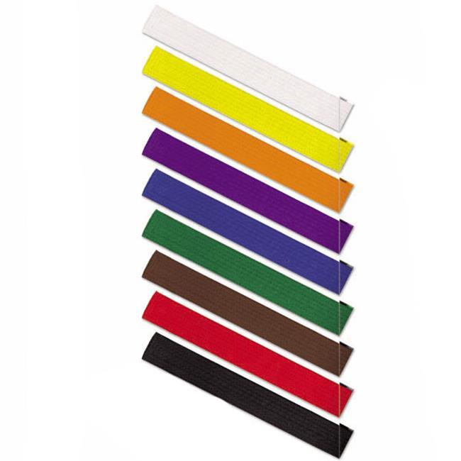 Revgear BELT YELLOW - 1 Yellow Solid Rank Belts size 1