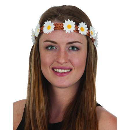 - Small Daisies Hippie Headband Costume Accessory