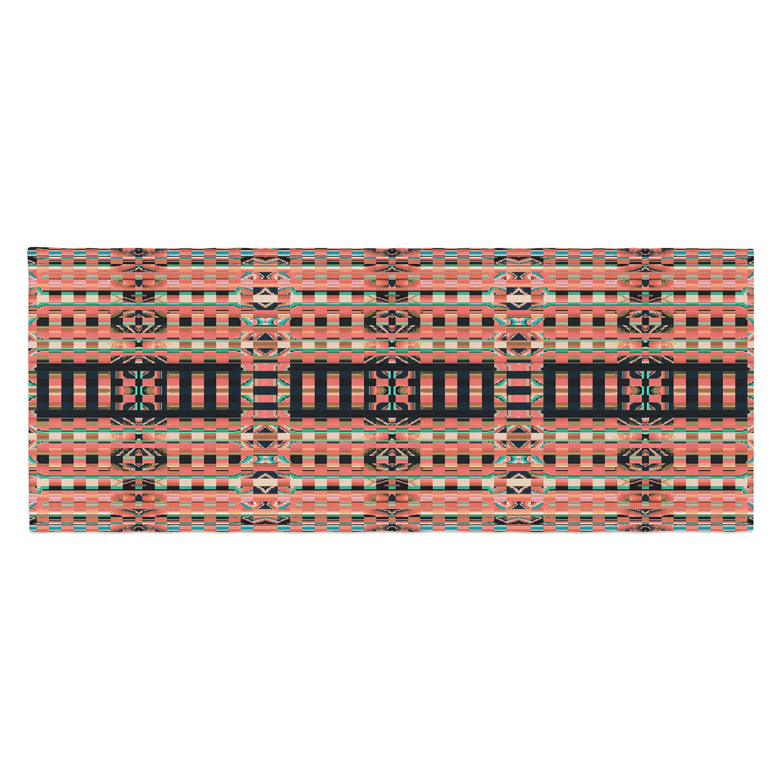 Nina May Deztekka Bed Runner by Kess InHouse