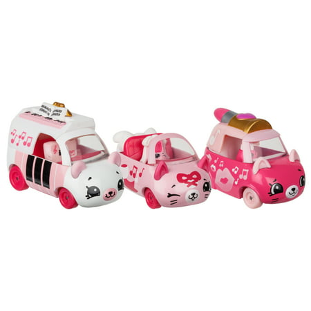 License 2 Play - Cutie Car 3 Pack, Pretty Performers