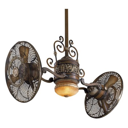 Monte Carlo Walnut Ceiling Fan - Minka Aire F502-BCW Traditional Gyro 42 in. Indoor Ceiling Fan - Belcaro Walnut