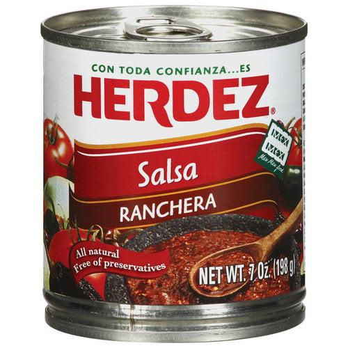 Herdez Ranchera Salsa, 7 oz