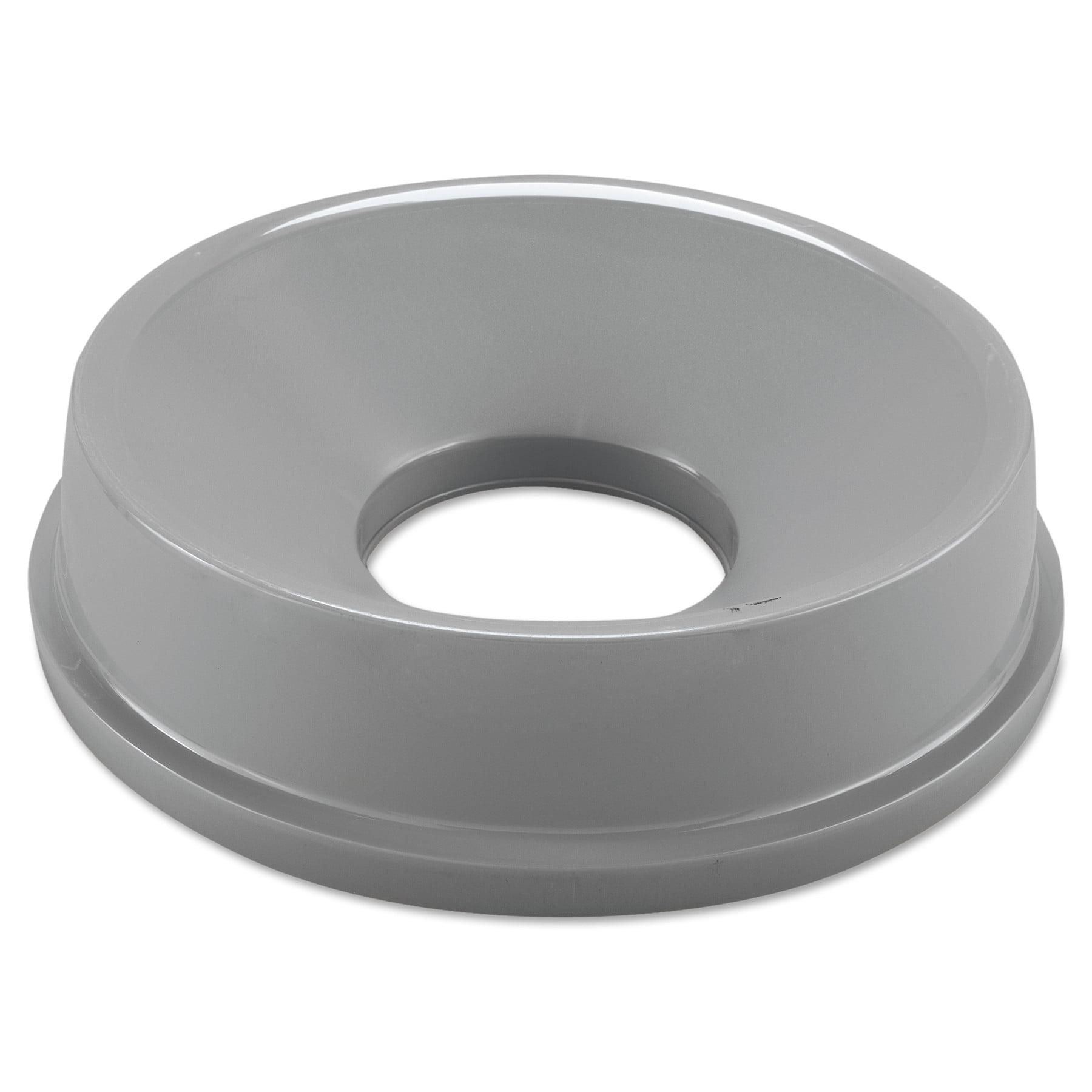 Rubbermaid Commercial Untouchable Funnel Top, Round, 16 1/4 Diameter, Gray