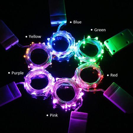 3M/9.8FT 30 LED Fairy Starry Copper Wire String Battery Operated Powered IP65 Water Resistance Extra Flexible Bendable Light Strip for Holiday Christmas Xmas Halloween Festival Decorations (Halloween Beer Festival)