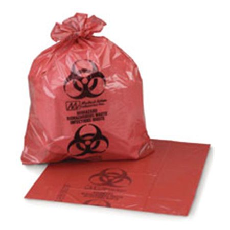 Wp000 44 00 44 00 44 00 Liner Infectious Waste Saf T Seal 24X24   10Gal Film Rd 1000 Ca Medical Action Industries