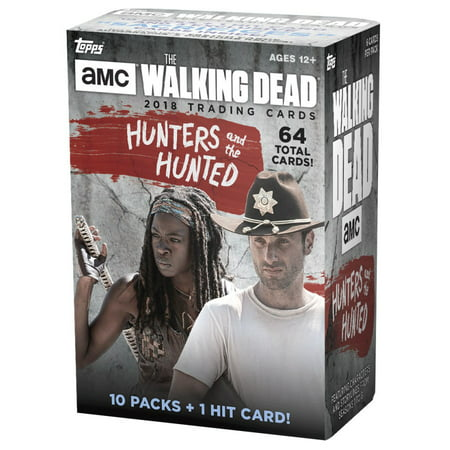 The Walking Dead Hunters & the Hunted Trading Card Blaster Box