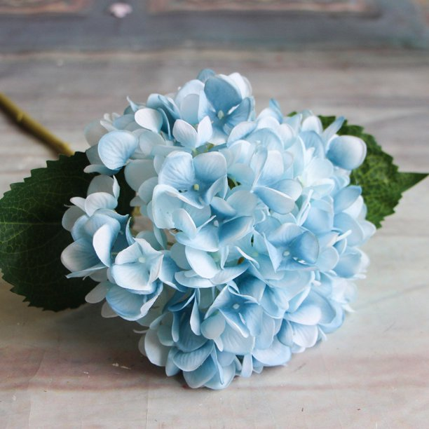 1pcs Artificial Flowers Hydrangea Wedding Bouquet Home Party Decoration Flower Arrangements Walmart Com Walmart Com