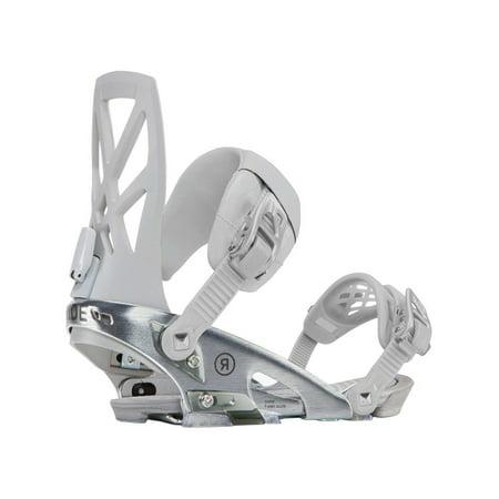 Medium Snowboard Bindings (Ride Capo Snowboard Bindings Silver)