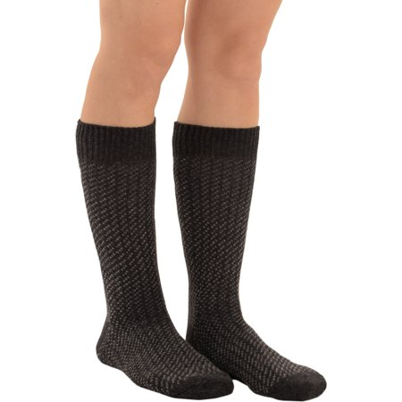 Mens Patterned Socks Wool Cashmere Blend Black Grey Brown Red Knit Dress (Mens Comfort Stretch Wool Dress)