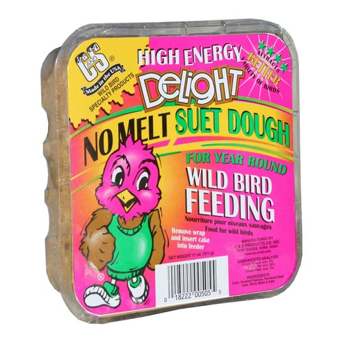 C. & S. Prod. 12505 Wild Bird Suet Dough-HIGH ENERGY DELIGHT SUET