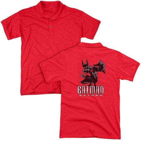 ba28b2ec 2Bhip - Batman DC Comics Batman Beyond Adult Back Print Polo T-Shirt ...