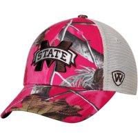 Mississippi State Bulldogs Top of the World Women's Doe Realtree Camo Xtra Blaze Trucker Adjustable Snapback Hat - Pink - OSFA
