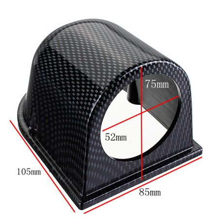 Universal 52mm 2'' Carbon Fiber Style Single Hole Gauge Meter Mount Holder  Pod | Walmart Canada