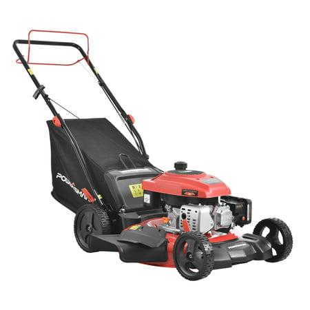 "PowerSmart PS2194SR 21"" 3-in-1 170cc Gas Self Propelled Lawn Mower"