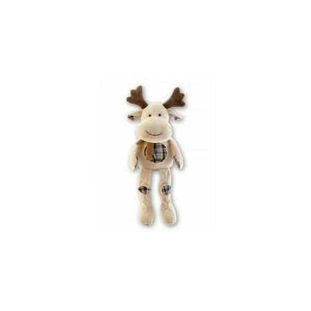 Image of Puzzled 5028 Stylish Plush - Sitting Beige Moose -Pack of 6