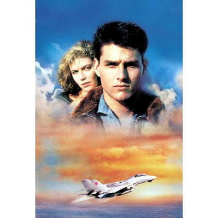 Top Gun Movie 11Inx17in Mini Poster Art  No Text In Mail Storage Gift Tube