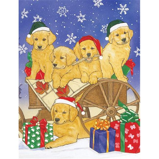 Pipsqueak Productions C900 Golden Holiday Boxed Cards