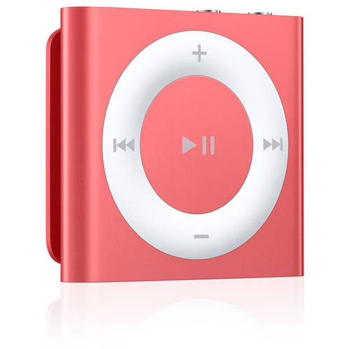 Apple iPod shuffle 4th Generation 2GB MP3 Player - Pink (Certified Refurbished)