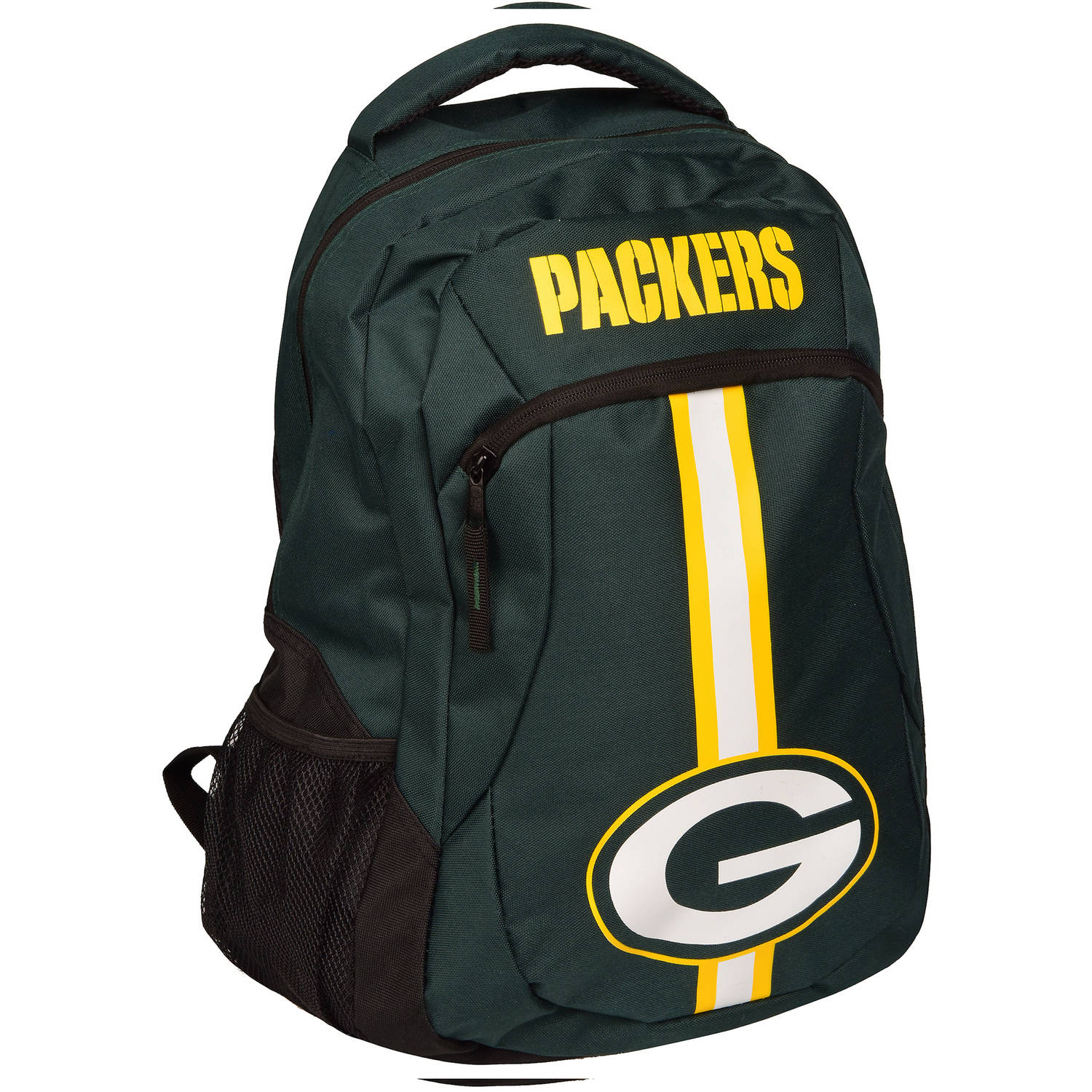 Forever Collectibles NFL Green Bay Packers Action Stripe Logo Backpack
