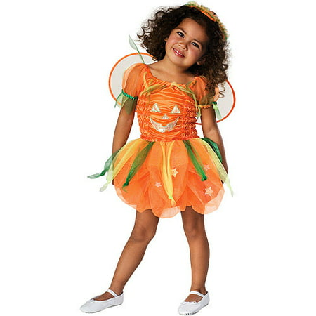 Pumpkin Toddler Halloween Costume - One Size - Easy Pumpkin Halloween Costume