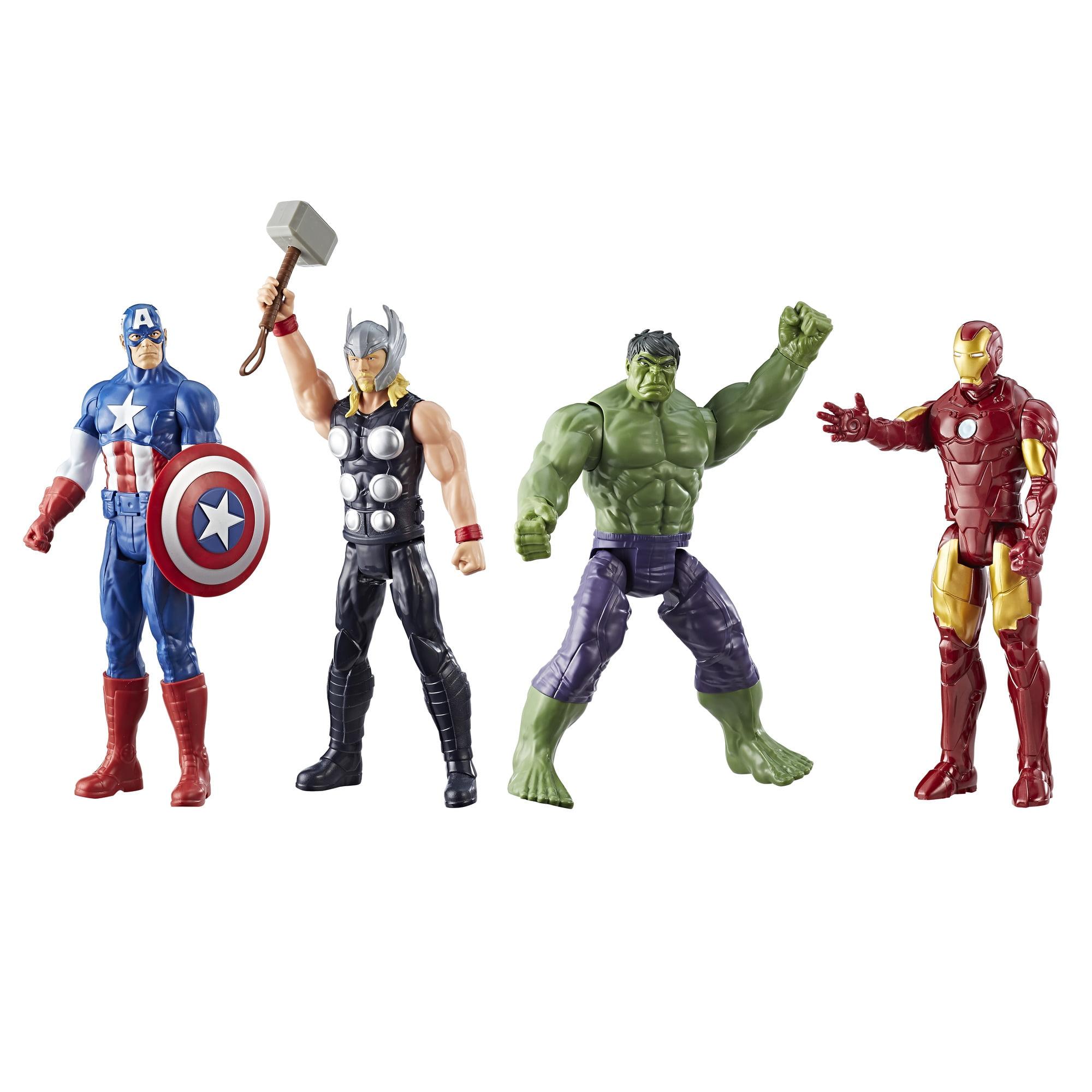 Marvel Titan Hero Series Avengers 4-Pack