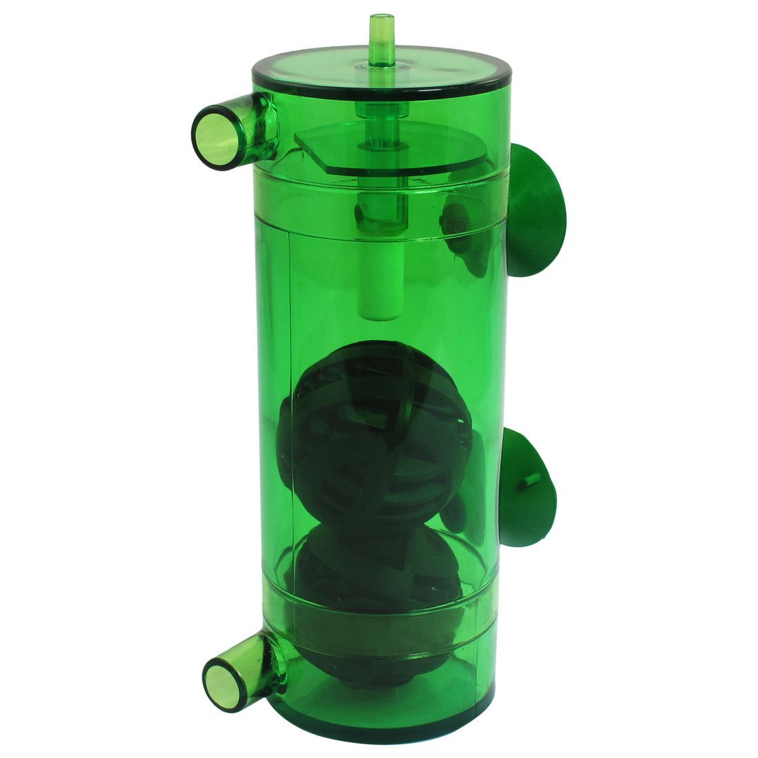 Water & Wood Fish Tank Green Plastic Case CO2 Atomizer Diffuser By Como