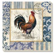 Counter Art CART87477 French Rooster Coasters, Set of 4