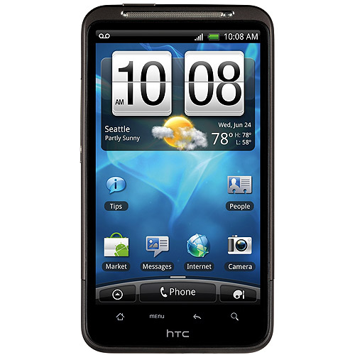HTC Inspire 4G GSM Smartphone (Unlocked), Black
