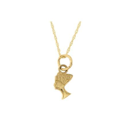 Beauniq 14k yellow gold tiny nefertiti pendant necklace walmart beauniq 14k yellow gold tiny nefertiti pendant necklace mozeypictures Gallery