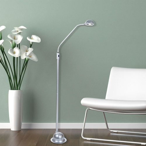 Lavish Home Modern High Power 5' LED Floor Lamp