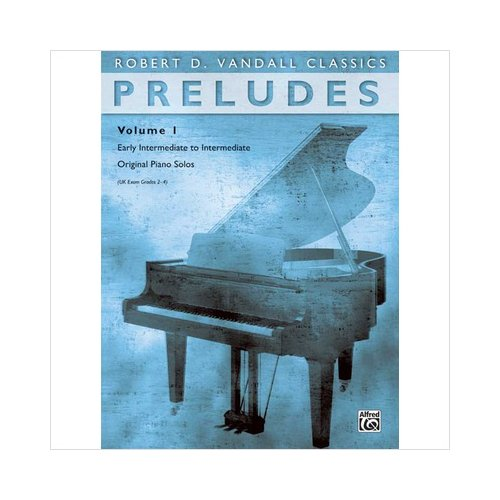 Alfred 00-88296 Preludes- Volume 1 - Music Book