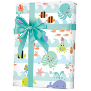 Sea Babies Gift Wrap Wrapping Paper 15ft Roll