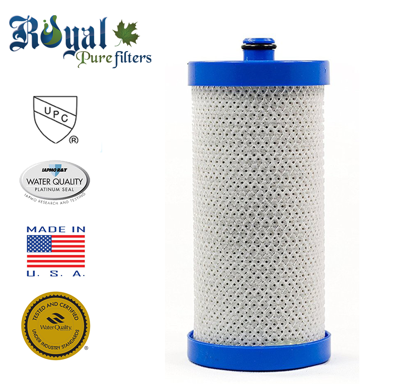 [1-Pack] Royal Pure Filters RPF-WF1CB Replacement Water Filter For Frigidaire WFCB, WF1CB, WF1CB-EFF, WF1CB-3, RFC2300A, WF-1CB, WF1-CB, WF1CB-EFF, RWF1030,RG100, RG-100