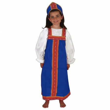 Russian Girl Outfit - Traditional Russian Outfit