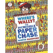 Where's Wally? The Incredible Paper Chase (Paperback)