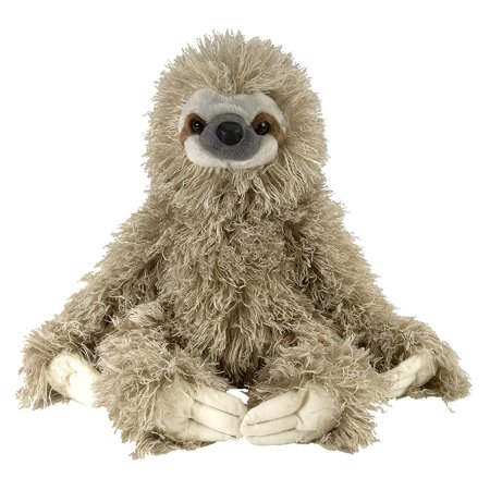 Three Toed Sloth Plush, Stuffed Animal, Plush Toy, Gifts for Kids, Cuddlekins 12 Inches, Uses the finest of fabrics By Wild -